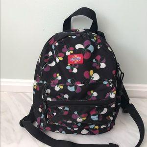 DICKIES Mini Floral Backpack Black Pink